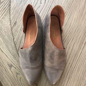 Free People Royale Pointy Toe Flat - EUC